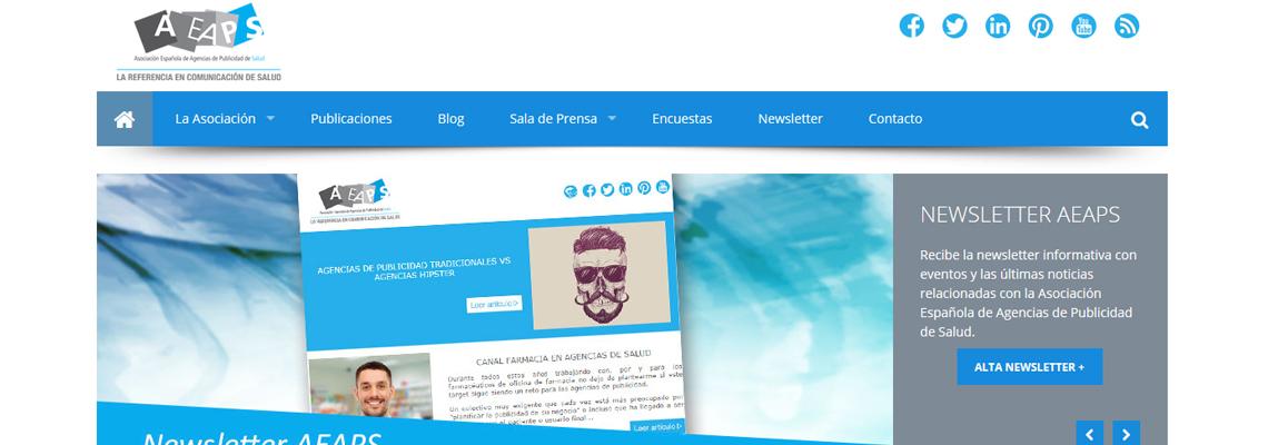 AEAPS Salud Web en Joomla!