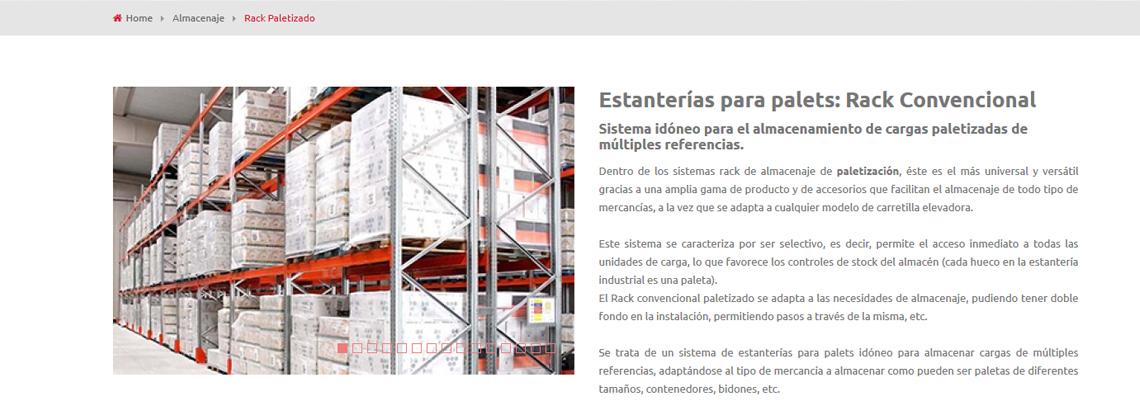 Web de Esnova en 4 idiomas