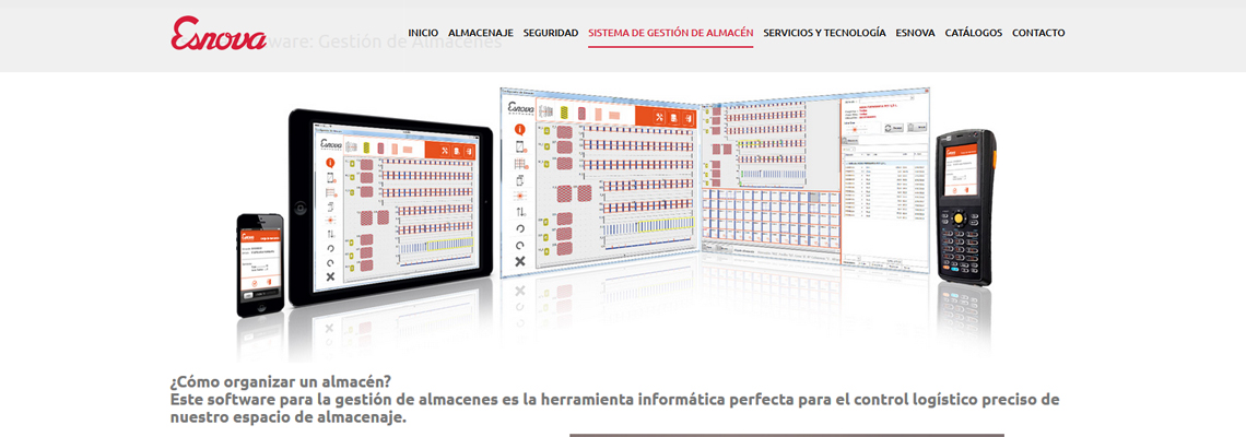 Esnova, diseño web por Gesimde