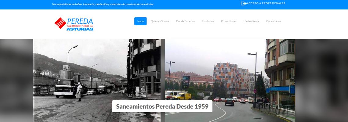 Saneamientos Pereda Asturias - Web