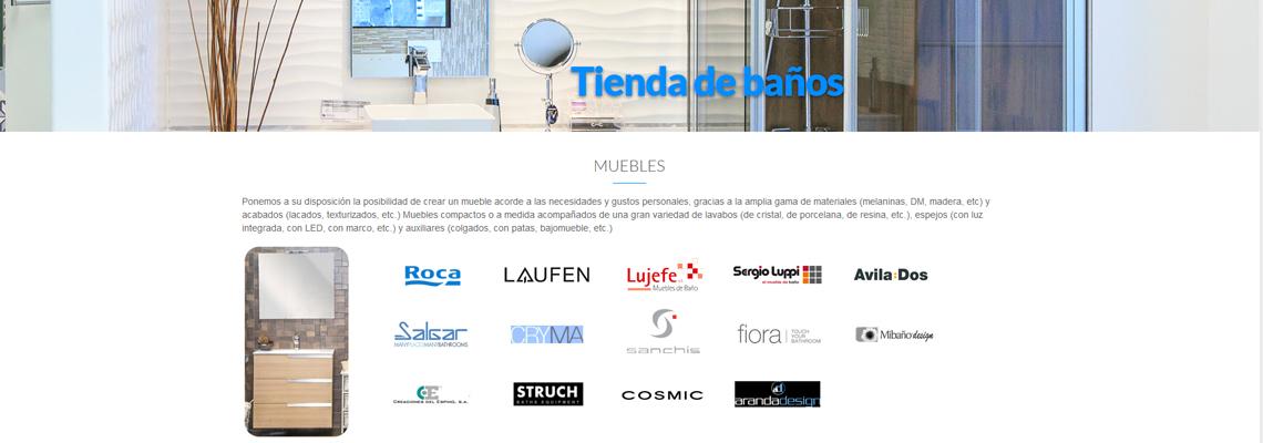 Asturias, Saneamientos Pereda, web Joomla