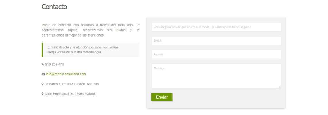 Contacto Joomla! FoxContact