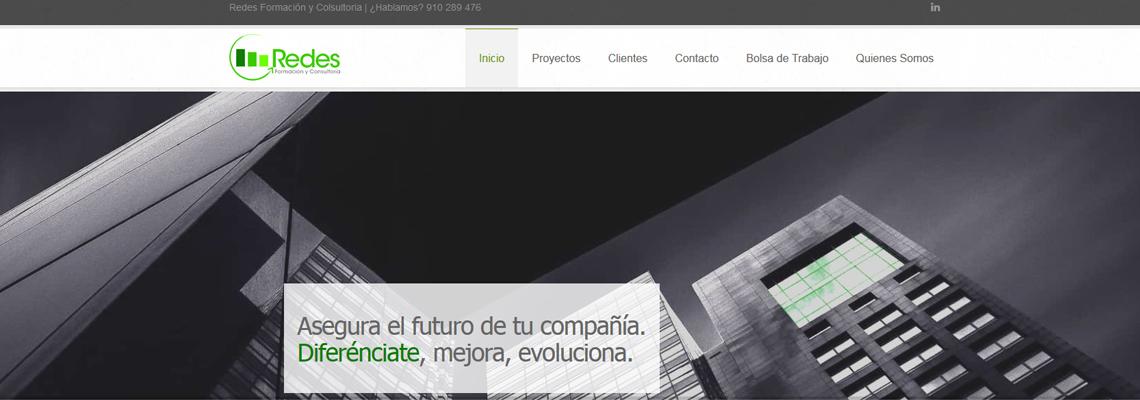 Diseño web Joomla! Redes Consultoría