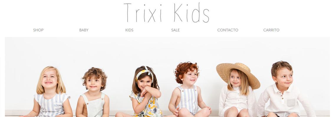 Diseño tienda online Prestashop TrixiKids